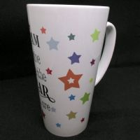 Large Personalised Ceramic 17 oz Latte Mug